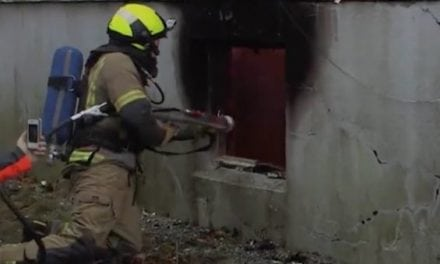 Firefighters Use Shotgun Against Flames… Seriously