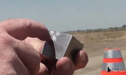 Is Tungsten Bulletproof? TAOFLEDERMAUS Finds Out