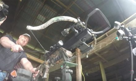 This Guy Cuts His Crossbow String at Full Draw… Intentionally!