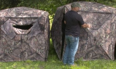 Ready to Succumb to the Obvious Benefits of a Ground Blind?