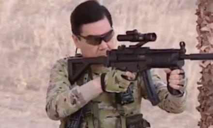 The President of Turkmenistan's Anti-ISIS Propaganda Video is Straight Out of an '80s Action Movie
