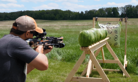 How Many Watermelons Will a Crossbow and a .223 Shoot Through?