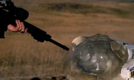 Shooting From Point-Blank Range With Some Big Rifle Rounds