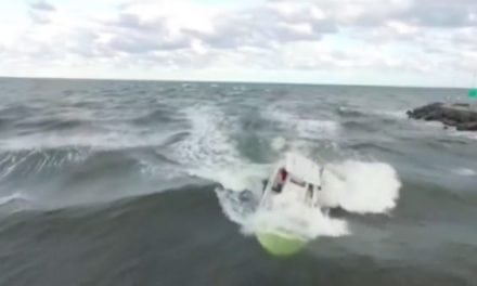 Florida Drone Pilot Captures Stunning Footage of Capsizing Boat and Amazing Rescue