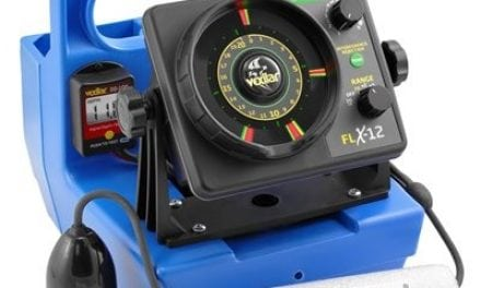New From Vexilar Genz Pack FLX12 w / 12 Degree Ice Ducer & DD100