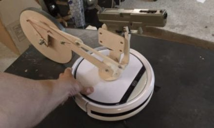 Video: The Slingshot Channel Guy Just Weaponized a Robot Vacuum Cleaner