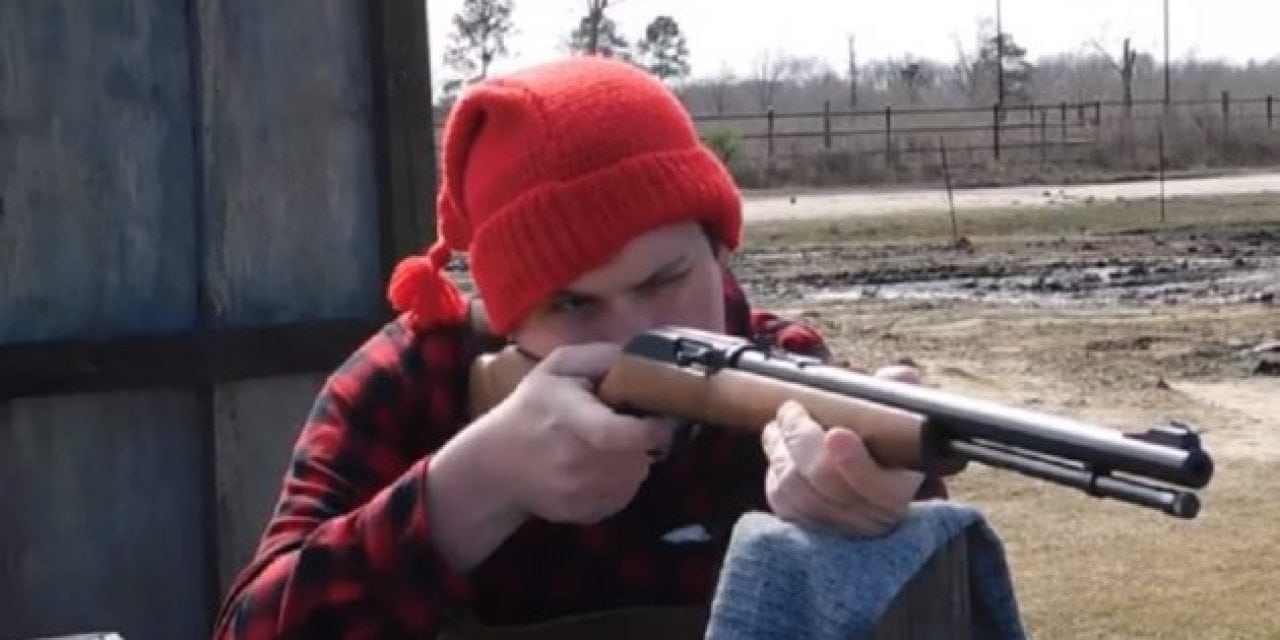 Mark3smle Tests Out a Christmas Present: The Popular Marlin Model 60 .22 Rifle