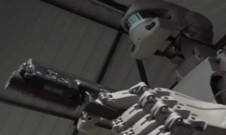 This New Humanoid Robot Can Even Shoot Guns