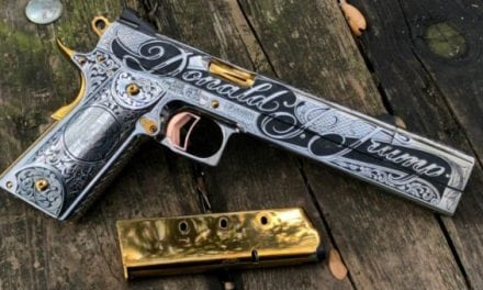 Jesse James Designs Spectacular 1911 Handgun for President Trump