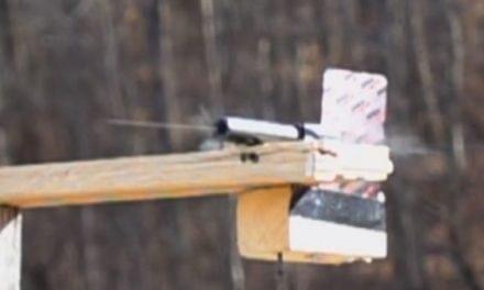 22plinkster Shoots Through Glock 19 Barrel to Split a Playing Card