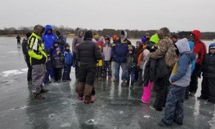 NPAA and FAF Support Scout Ice Fishing at Camp Oh-Da-Ko-Ta, Burlington, WI