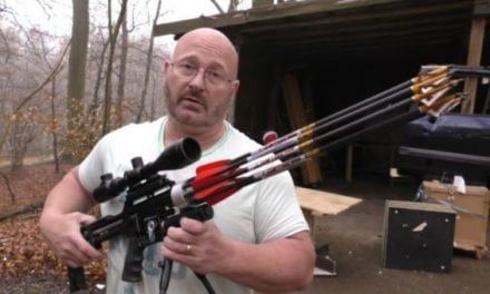 Check Out This Crazy 8-Shot Air Bow Revolver