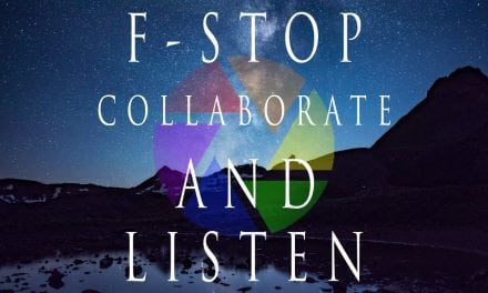 """""""F-Stop Collaborate and Listen"""" Podcasts, March 2018"""