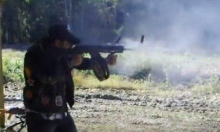 Video: Full-Auto Saiga 12 Shotgun with a 30-Round Mag