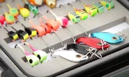 Best Ice Fishing Spoon! The Leech Flutter Spoon (VIDEO)