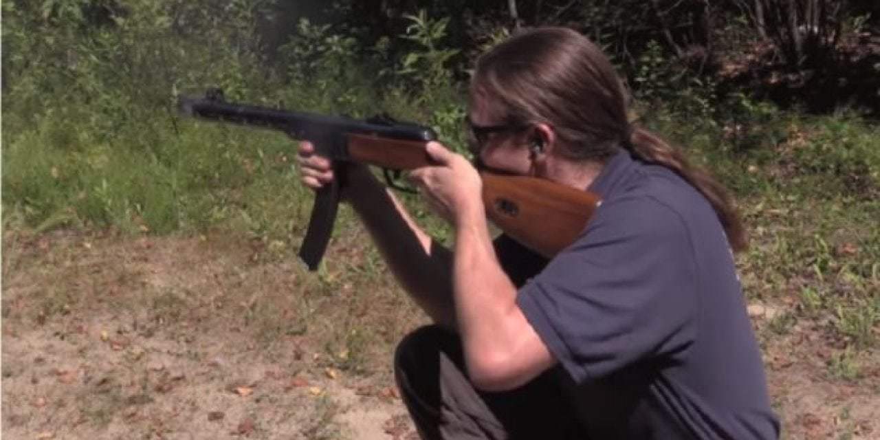 Firing the Historical PPSh-41 Burp Gun