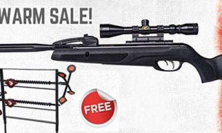 GAMO – The Swarm Maxxim .177 caliber air rifle. Spring Special!