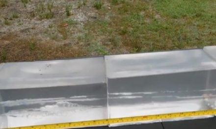Video: .380 ACP Sig Sauer 90-Grain V-Crown Bullet vs. Ballistics Gel