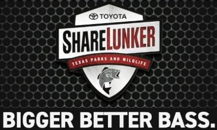 Toyota Sharelunker Program Welcomes Big Bass Entries through Dec. 31