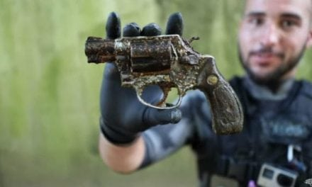 Video: Brandon Jordan Finds Another Long-Lost Handgun in an Urban Georgia Canal