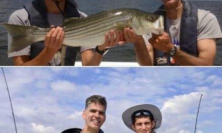 Father & Son Enjoy the Chesapeake Bay – July 4th