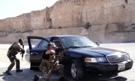 Watch the Crown Prince of Jordan Celebrate His Birthday at the Shooting Range With His Dad