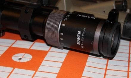 Here's a Closer Look at the Maven RS.1 Rifle Scope