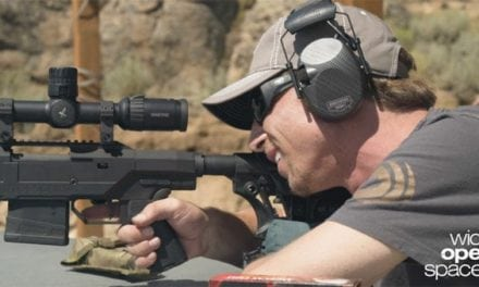 Making a Mile Shot with the Mossberg MVP Precision