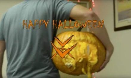 Vortex Optics Says Happy Halloween With an Awesome Jack-o-Lantern