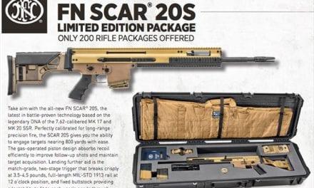 FN SCAR 20S Precision Rifle