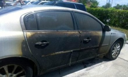 Deputy Couldn't Rescue Family From a Burning Car, So He Shot It With His Gun