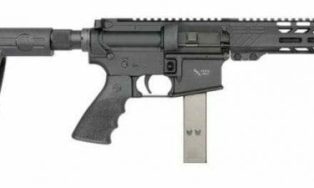 RRA LAR-9 Pistols with SB Tactical Arm Brace