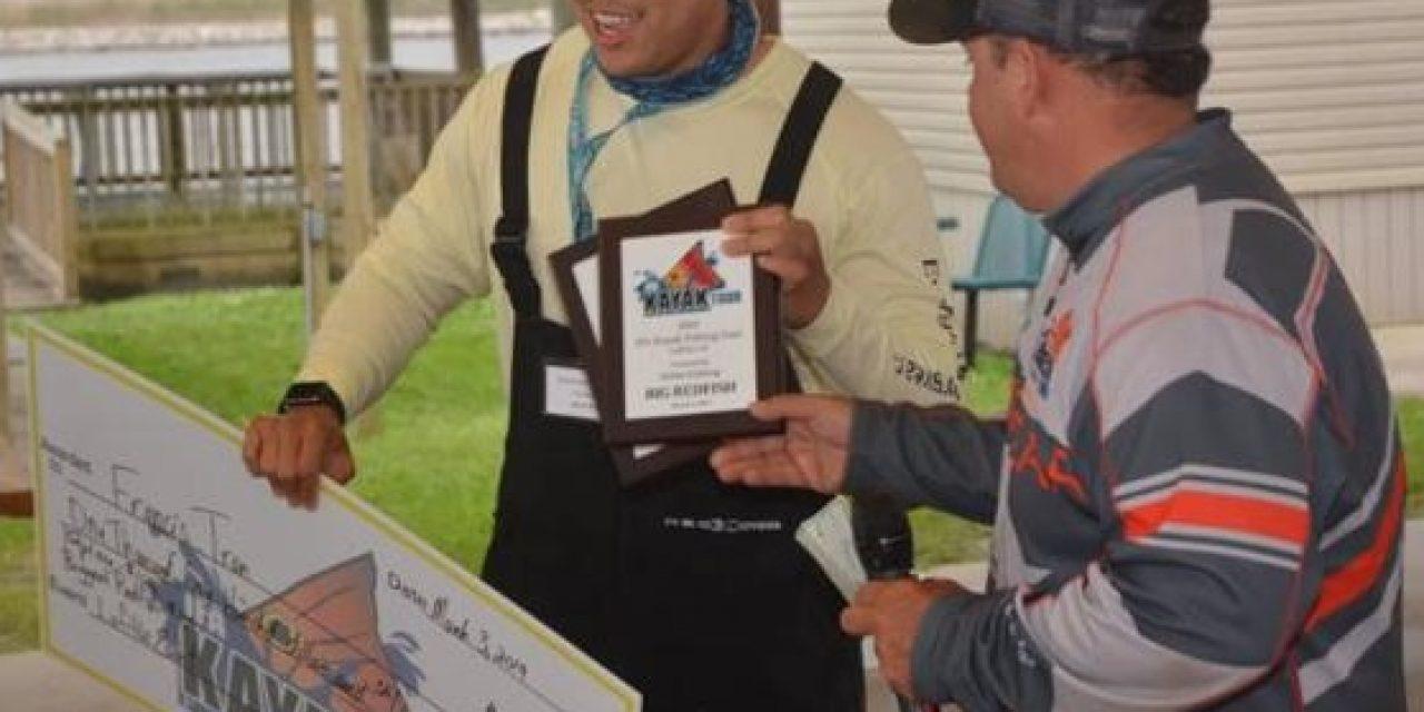 Tran Wins IFA Kayak Fishing Tour Event at Lafitte, Louisiana