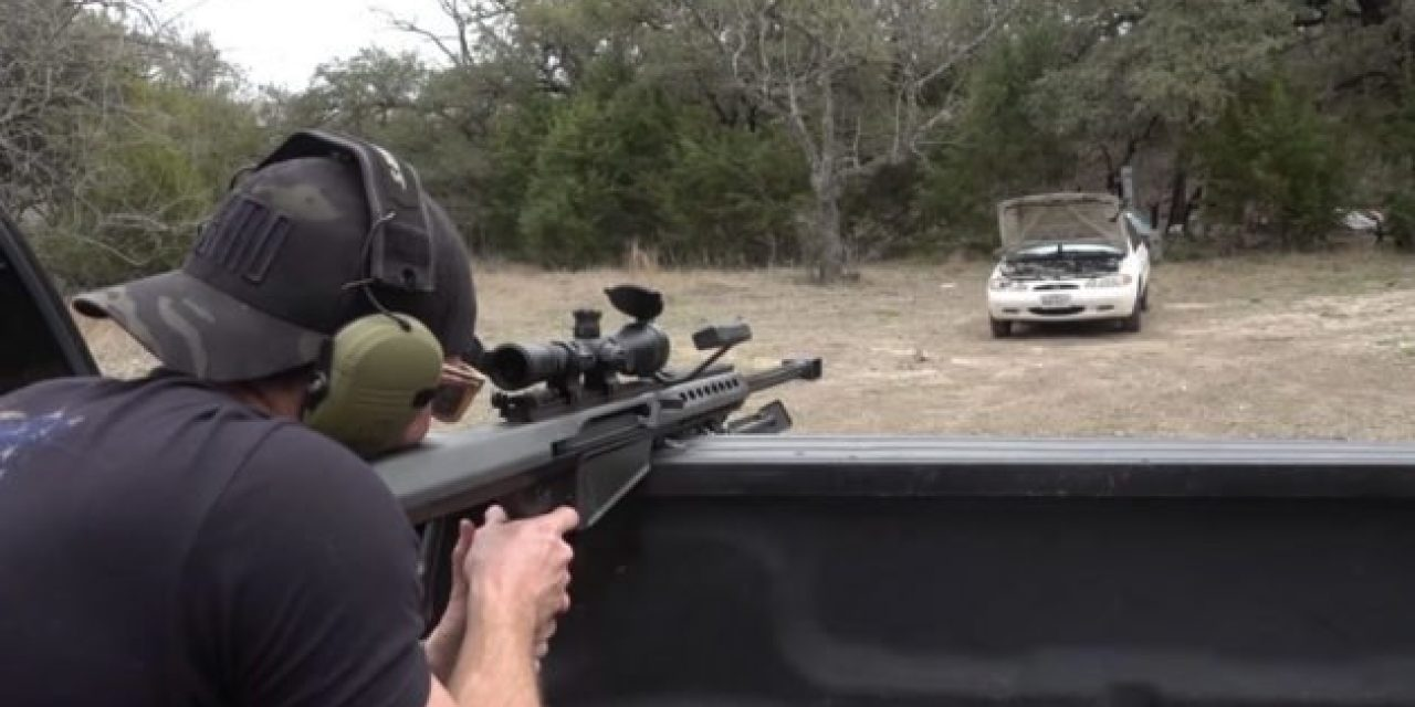 Video: How Many Bullets Does It Take to Make a Car Engine Stop Running?
