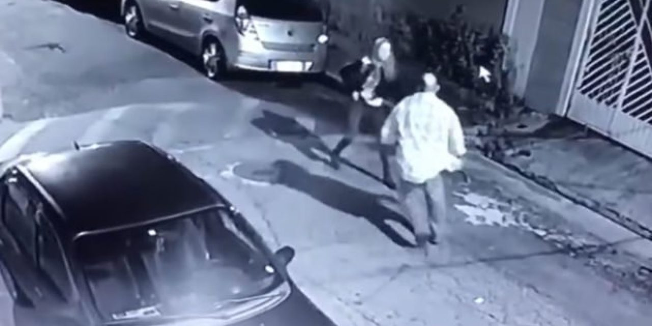 Video: Woman Stops Attackers in His Tracks With Concealed Firearm