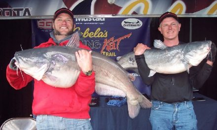 Justin Cook and Gary Ryan win Cabela's King Kat Tournament on Milford Lake