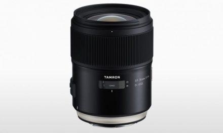 Tamron SP 35mm F/1.4 Di USD For Canon And Nikon DSLRs