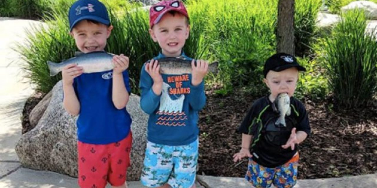 This Kid is Redefining the Grip-and-Grin Fish Photo Technique