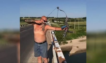 You've Never Seen This Long of a Bowfishing Shot Before