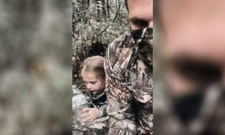 Adorable Little Girl More Interested in Singing Than Hunting on First Deer Hunt