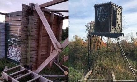 Anti-Hunters Are Vandalizing Deer Stands in Wisconsin