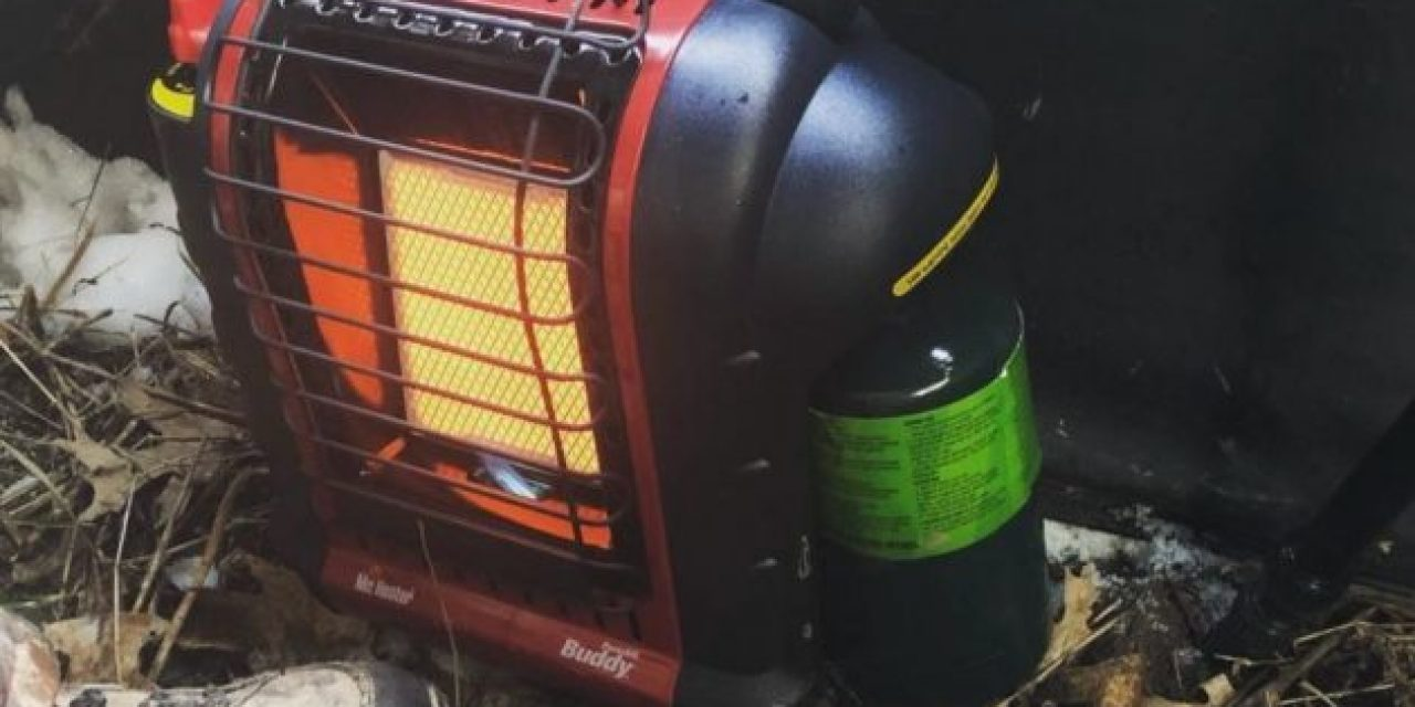 Keep Your Hunting Blind Toasty All Winter With A Portable