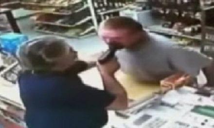 Grocery Store Clerk (and Iraq War Veteran) Pulls Gun on Robber
