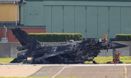 Air Force Base Worker Accidentally Fires F-16's Cannons, Blows Up Other F-16