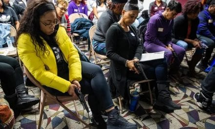 CINCINNATI WOMEN ATTENDING CCW CLASS RE-DEFINE 'WOKE,' SAYS CCRKBA