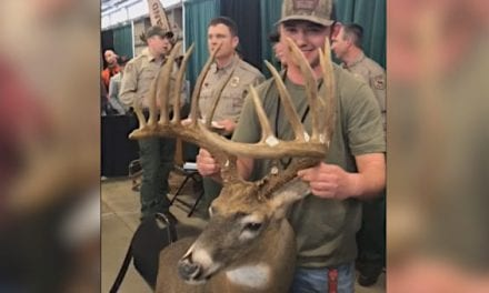 Womack Buck Officially Certified as the New Oklahoma State Record Archery Deer