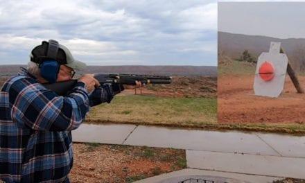 Jerry Miculek Nails 325-Yard Shot with Shotgun Slug