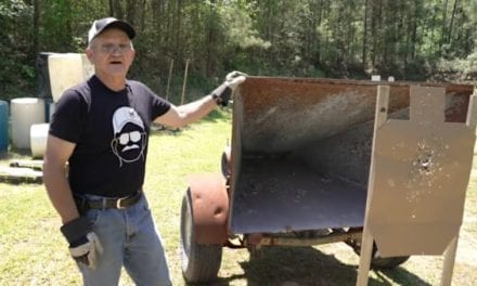 Jerry Miculek's Portable Bullet Trap is a Brilliant Way to Save and Recycle Lead