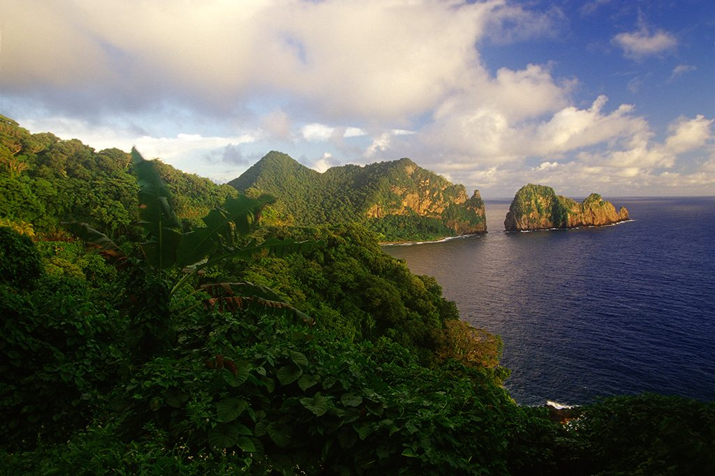 Unique national parks: Image from American Samoa