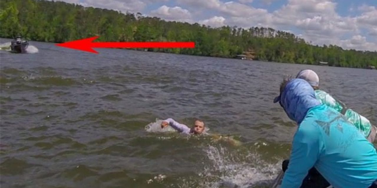 Boat Throws Driver at Full Speed, Keeps Driving Aimlessly